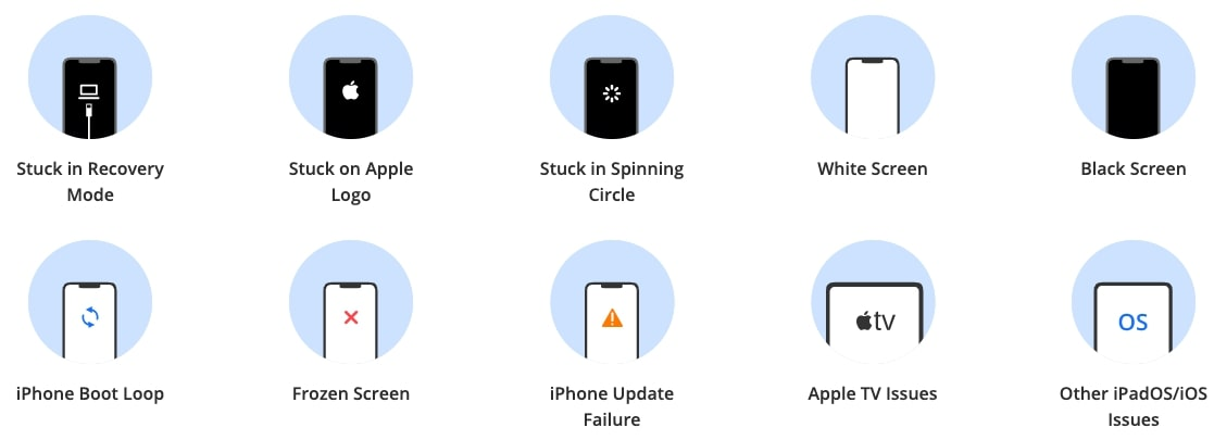 Fix All iOS:iPadOS:tvOS Problems