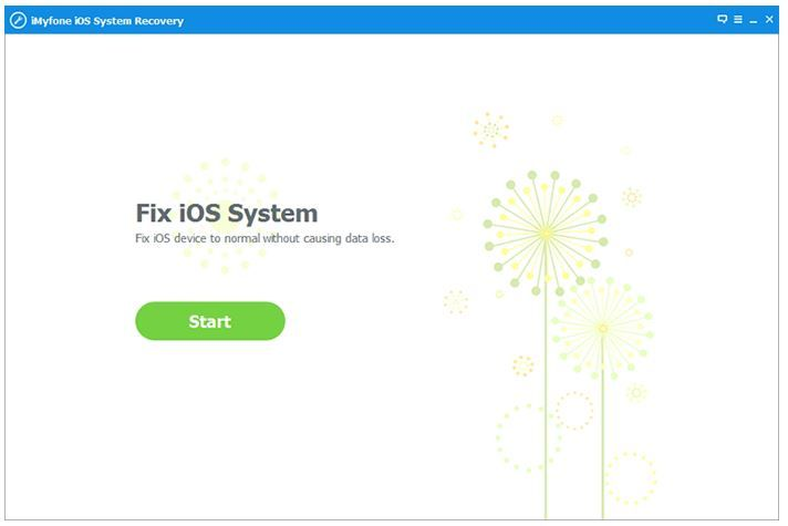 Launch ios recovery