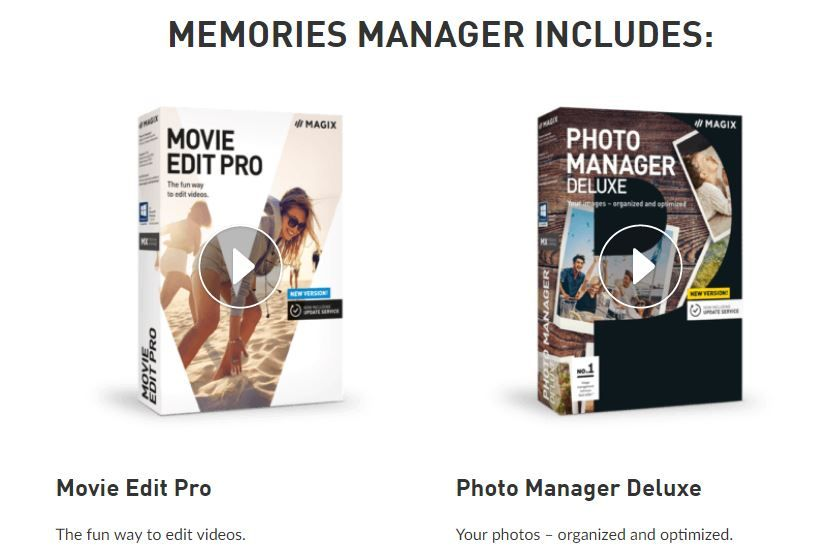 Magix Memories Manager -Photo Video Editor