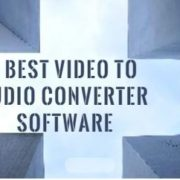 free Video to audio converter software