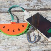 watermelon-power-bank