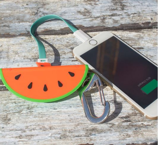 watermelon-power-bank