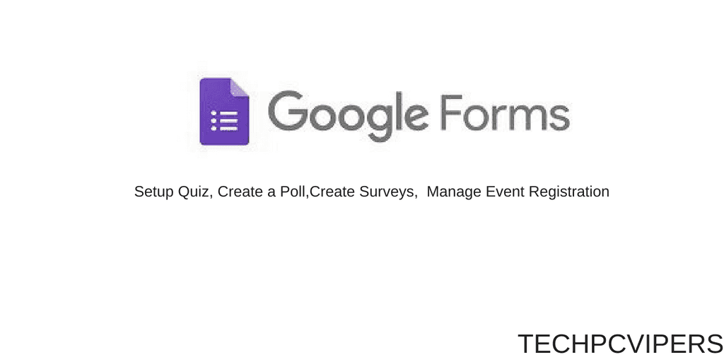 Beginner's Guide : How to create Google Registration form