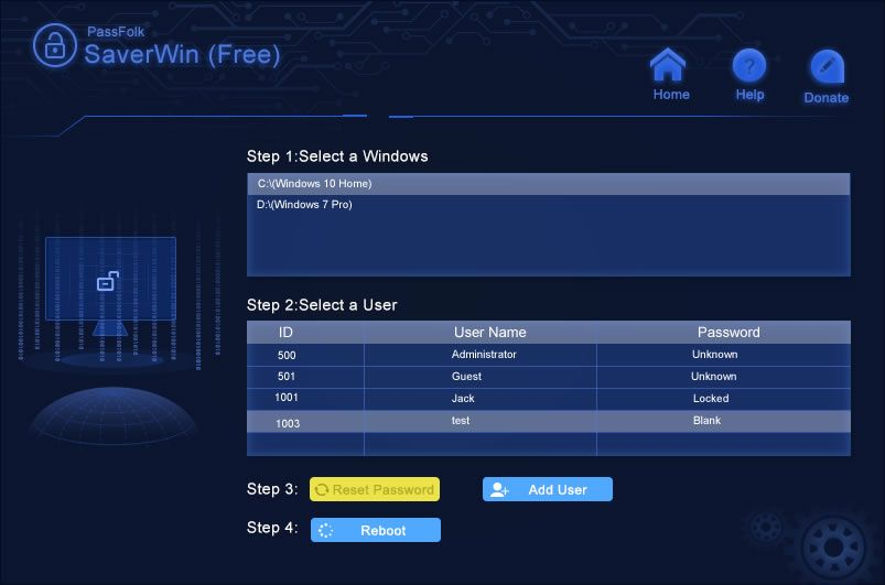 Reset The Windows Password