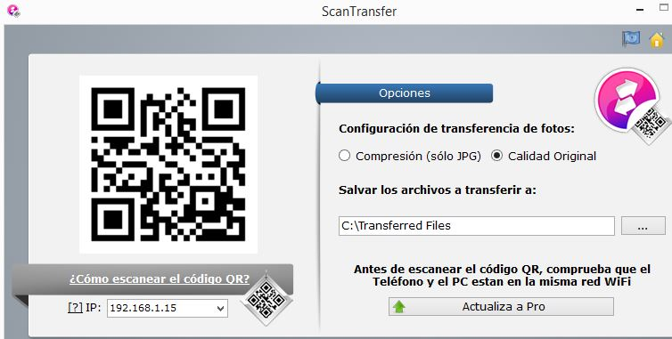 Scan Transfer Tool