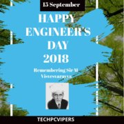 Happy Engineer's Day 2018