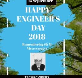 Happy Engineer's Day 2018