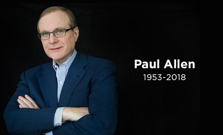 Paul Allen Died