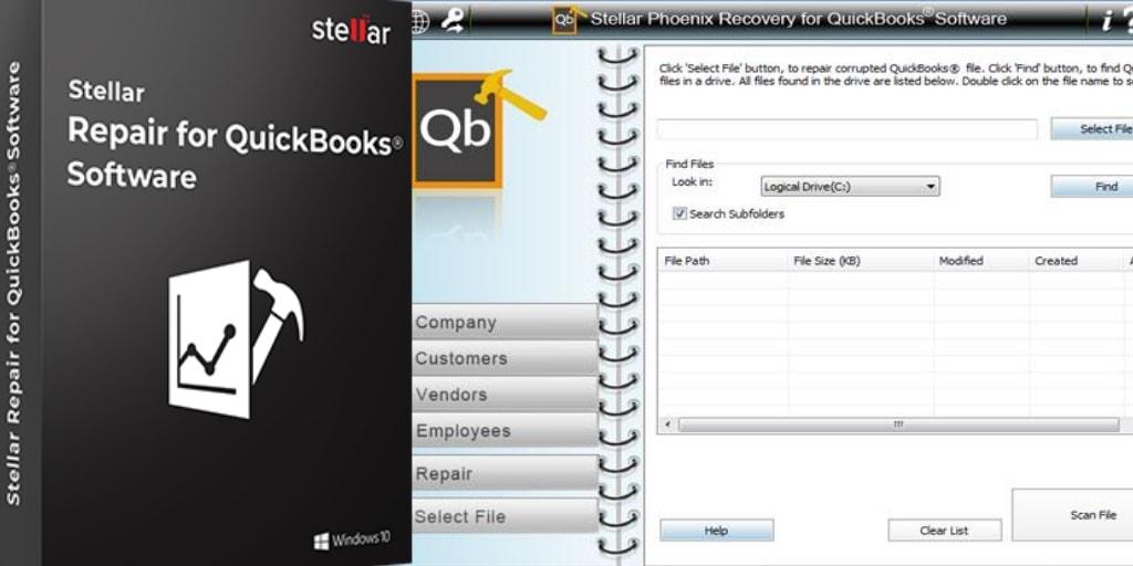Stellar Quickbooks File Repair Software