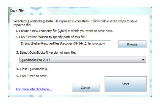 save your corrupted quickbooks file