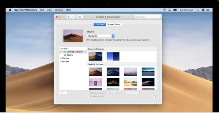Mac Dynamic Wallpaper Settings