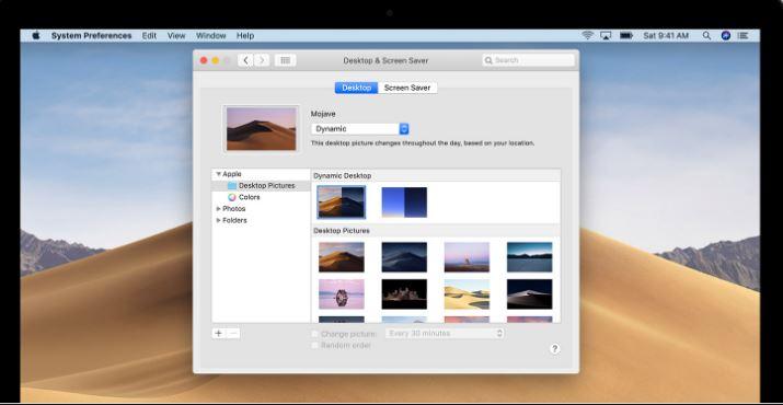 Mac Dynamic Wallpaper Settings