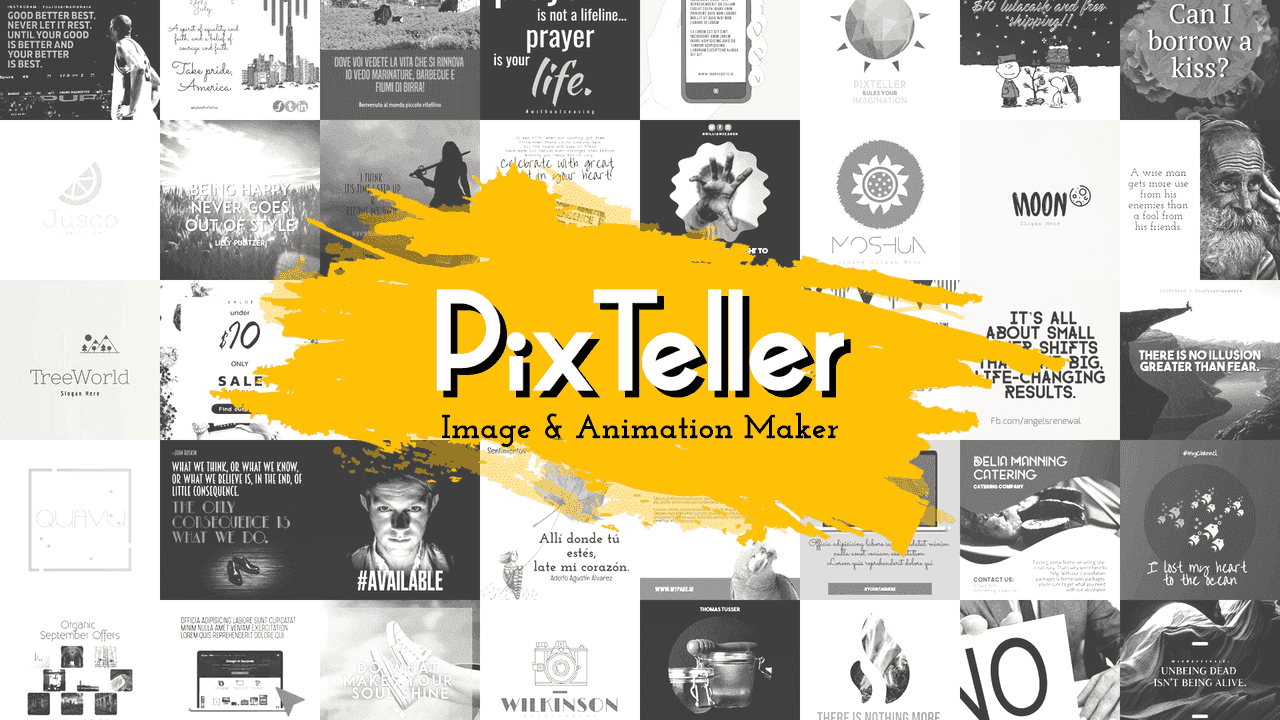 Pixteller Animation Editor