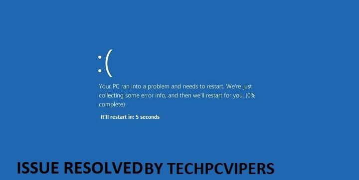 Watchdog Error in Windows