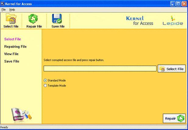 kernel for access database repair
