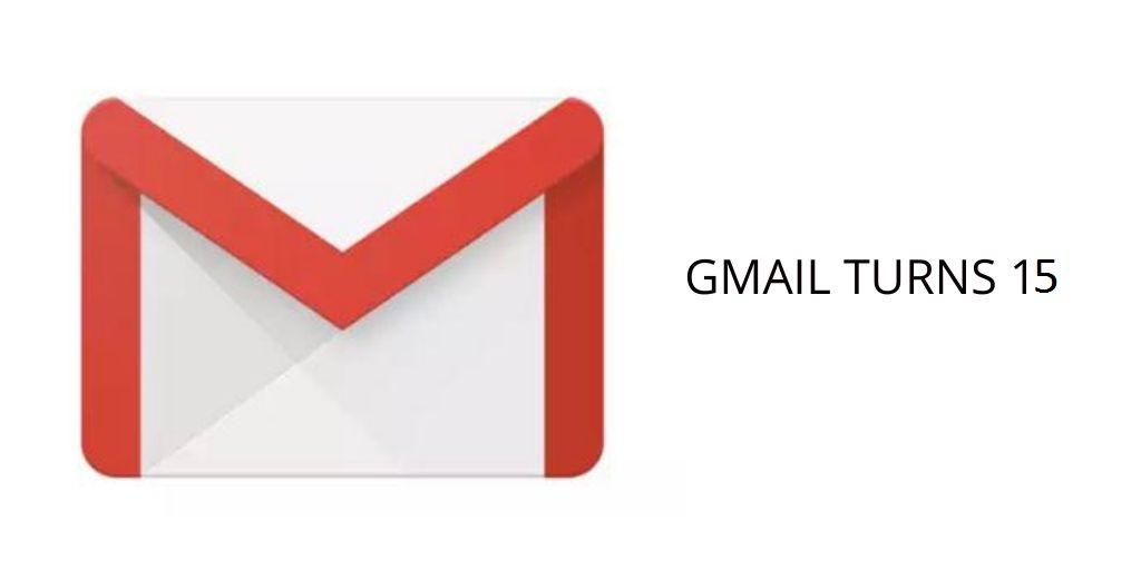Happy Birthday Gmail