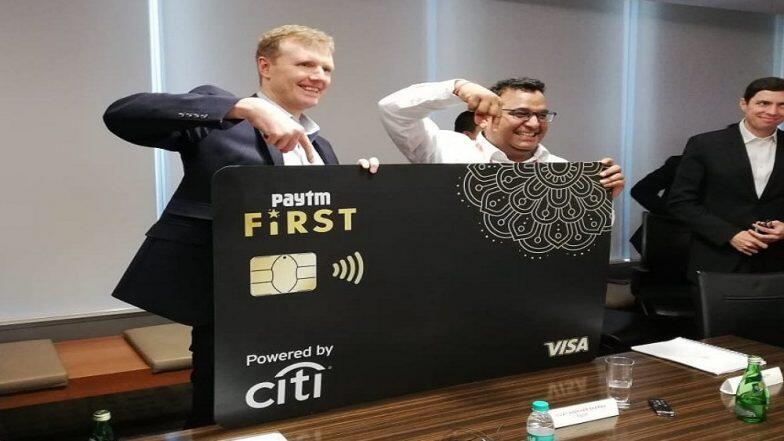 Paytm Credit Card Launch