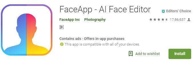 FaceApp - Google Play