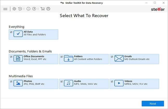 Select-What-to-Recover