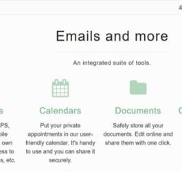 MailFence -private and secure email service