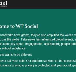 WT-Social-Ad-Free-network