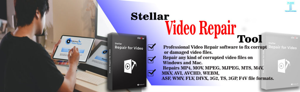stellar video repair software