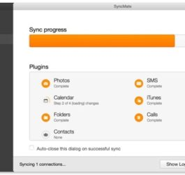 Sync-Progress