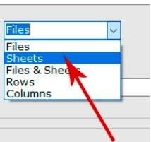 select sheets