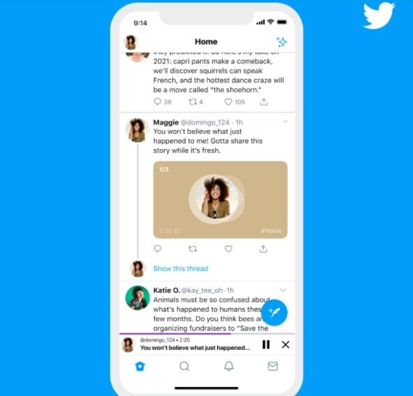 Audio-Tweet