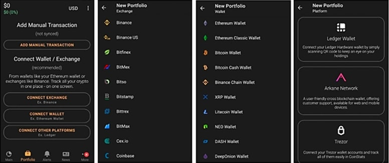 All your crypto in one app