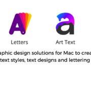MacOS-App-for-TextDesign-Lettering