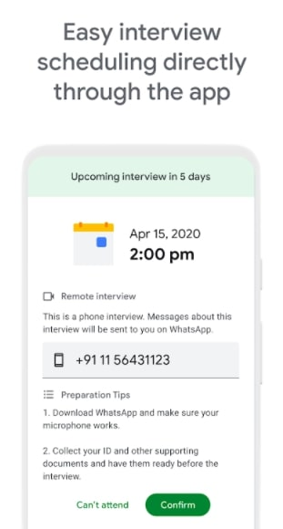 Schedule-Interview