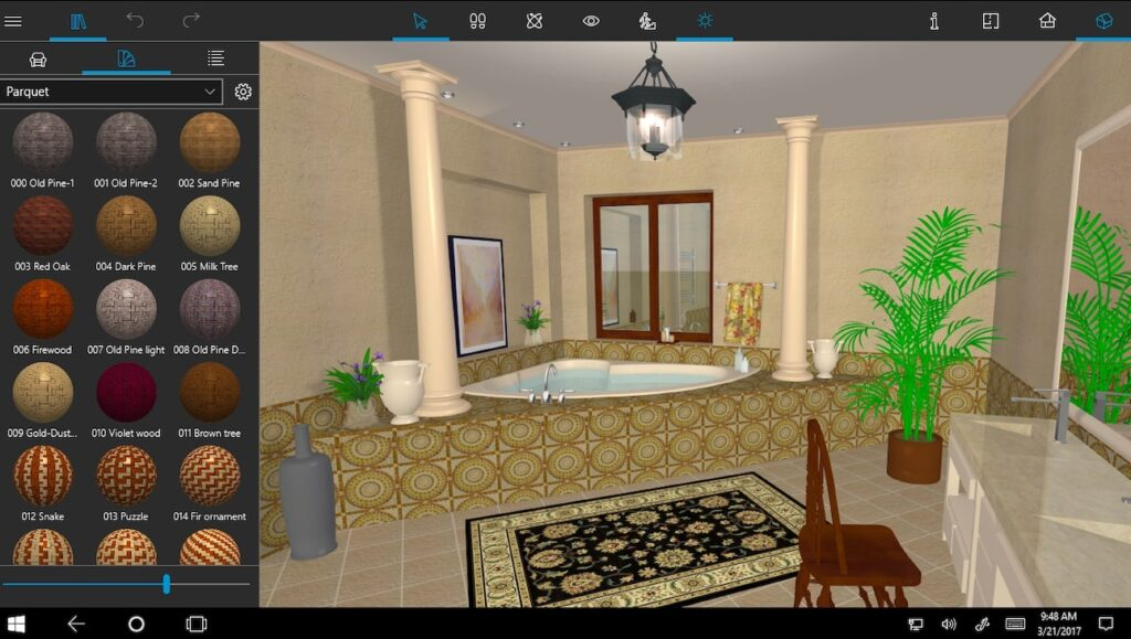 Win_3D_View_And_Materials
