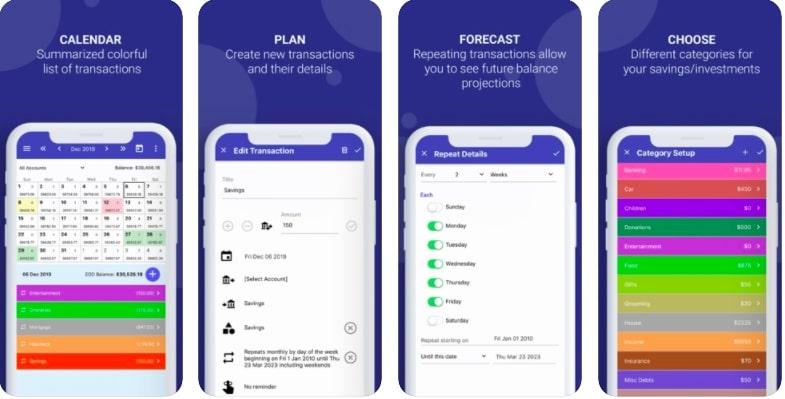 CalendarBudget-Money-Management-Budgeting-App