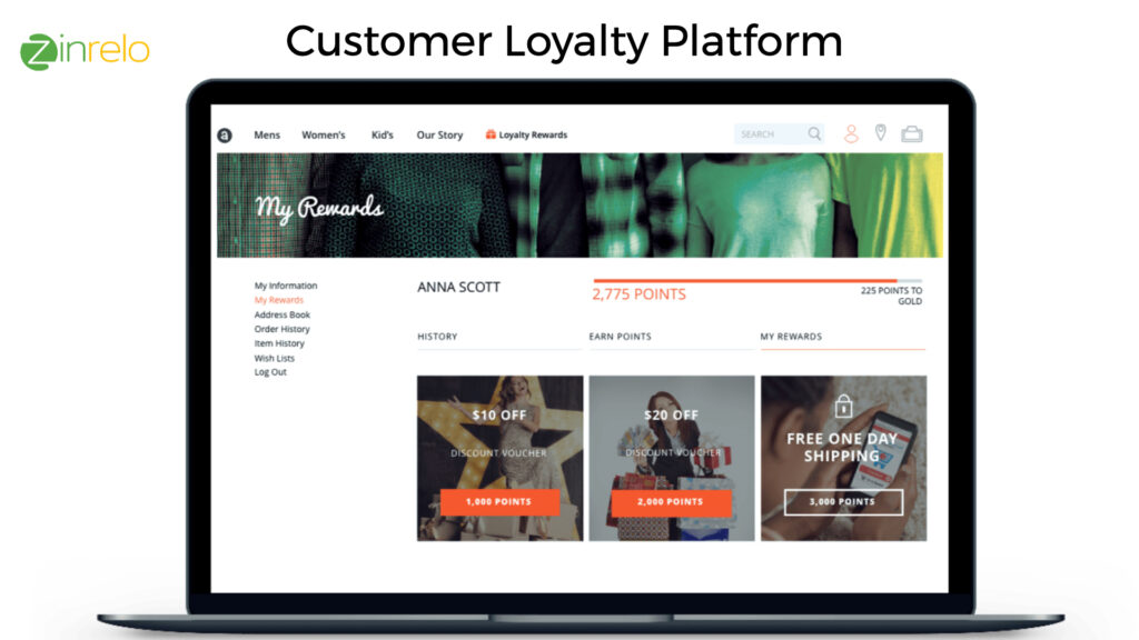 Zinrelo - Customer Loyalty Platform