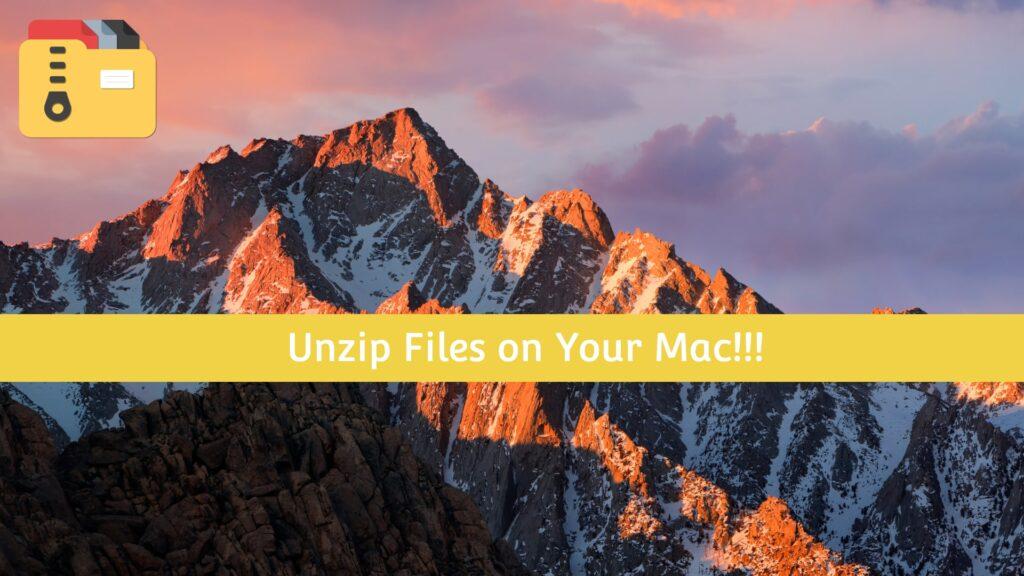Best Unzip Unarchive Tool