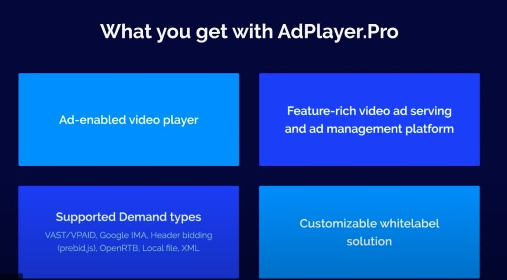Adplayer-Pro Features