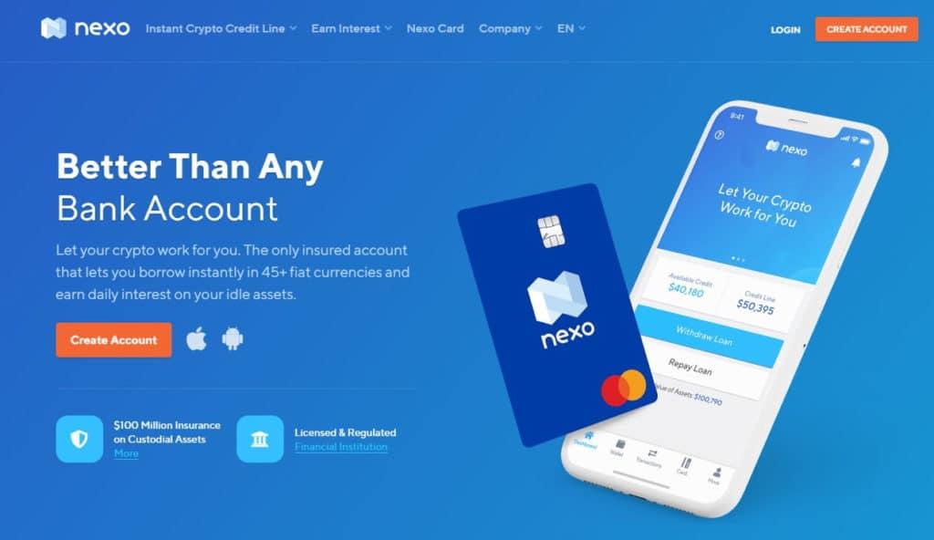 Nexo Website
