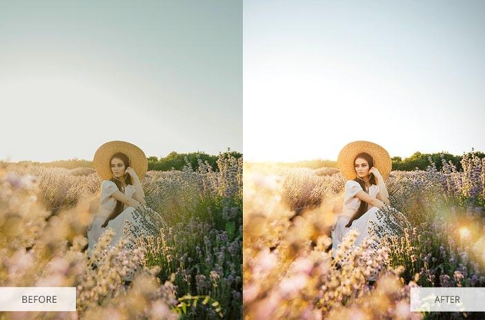 Light Rays Photoshop Overlays