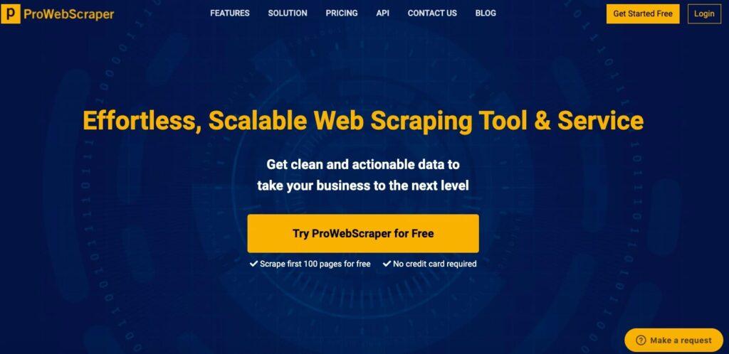 Web Scraping Tool