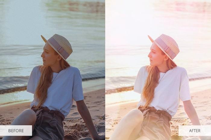 Summer Backdrop Pastel Overlays