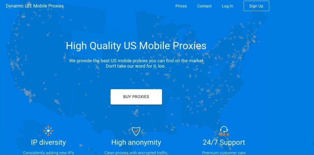 Proxy LTE