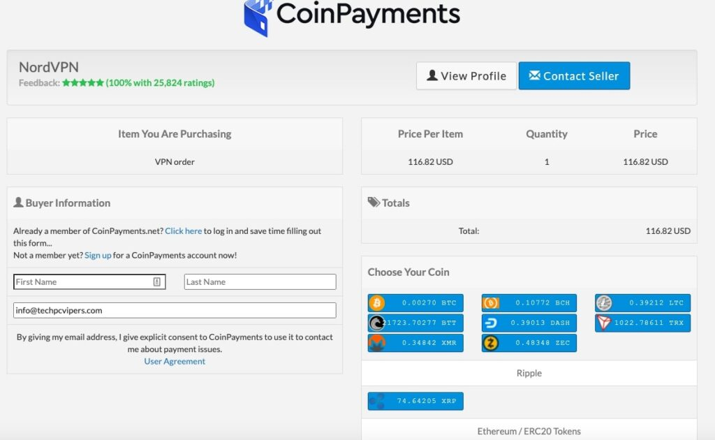 Crypto-payments