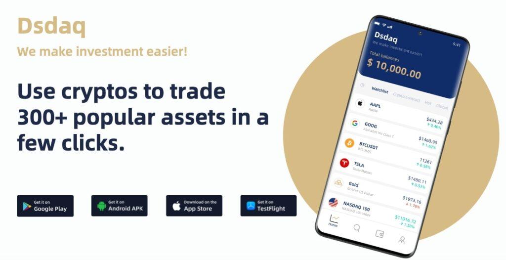 Dsdaq-Crypto-Trading-Platform