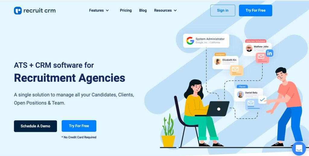 Recruit CRM - Recruitment software for staffing agencies