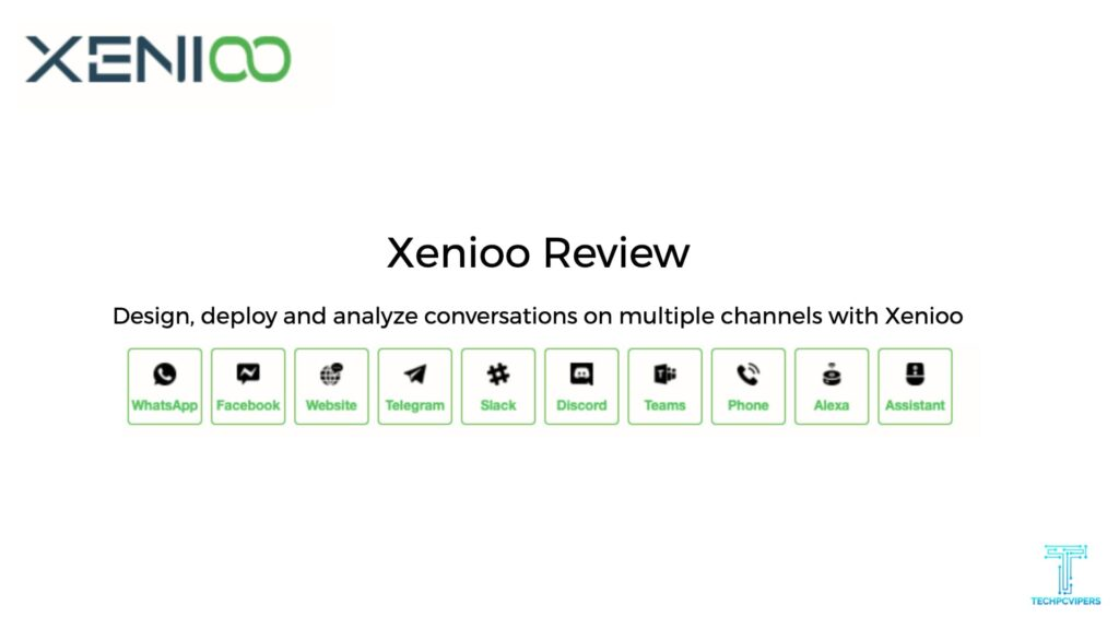Xenioo Review:- Chatbot Software