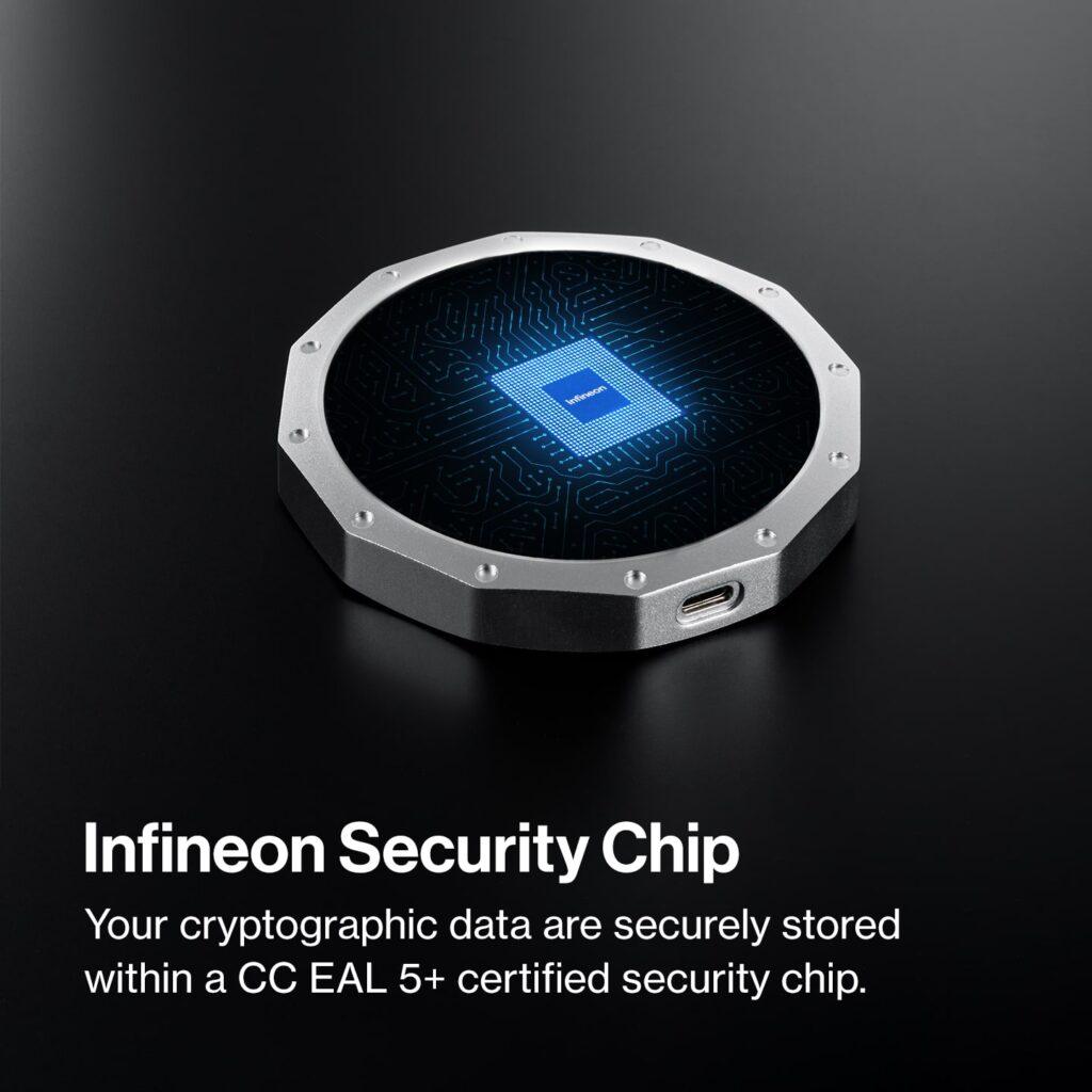 SecuX-V20_Hardware-Wallet_Infineon-Security-Chip