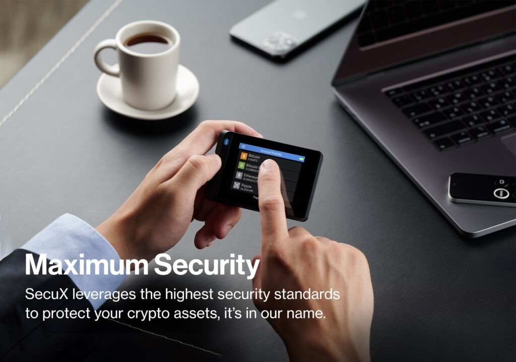 SecuX-W20_Hardware-Wallet_Maximum-Security