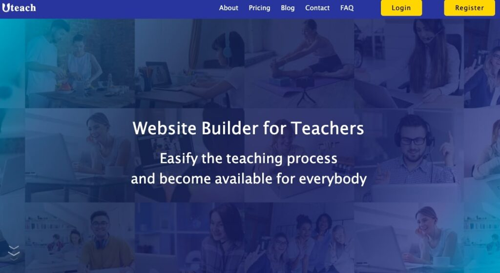Uteach Website Builder