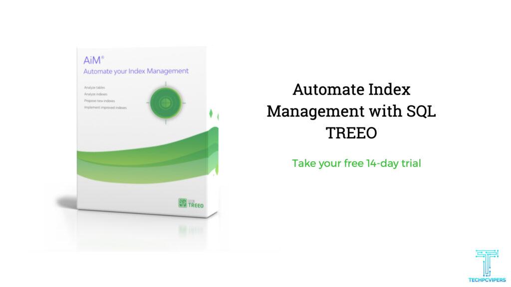Maximize Database Performance using SQL Treeo
